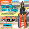 Professional crimping tool Multi-Tool Wire Stripper Cutter Crimper Insulated NEW