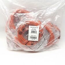LOT OF 10 MONOPRICE 9834 CAT6-10-RED NO BOOT CAT6 ETHERNET PAD CABLE 10FT RED