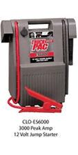 Clore Automotive Truck PAC 3000 Peak Amp 12 Volt Jump Starter ES6000