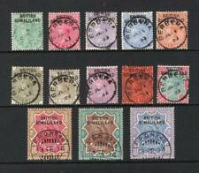 Somaliland 1903 Queen Victoria Complete Set - Used - SC# 1-13  Cats $270.60