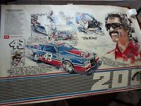 2 - 1984 Autographed Richard Petty Posters 200th Win.