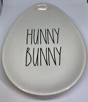 "Rae Dunn Egg Shaped Plate ""Hunny Bunny"""