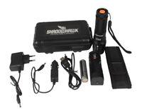 20000lm echte Shadowhawk X800 Polizei XM-L L2 Taschenlampe Zoom Fackel PowerAkku