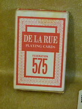 Playing Cards De la Rue Complete Pack Federation 575