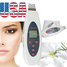 Skin Salon Ultrasonic Frequency Digital Scrubber Peeling Cleaners Beauty CARE US