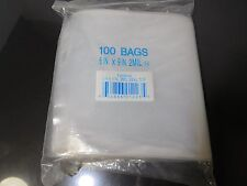 "Elkay F20609 2 mil Line Single Track Seal Top Bag, 6"" x 9"", Clear 100 Bags"