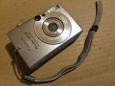 Cannon PowerShot SD100 AiAF ELPH 3.2MP Digital Camera PC1035 USB SD #6721325089