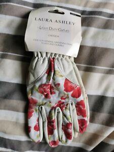 Laura Ashley Light Duty Gardening Gloves (Creasida Print) Large, New