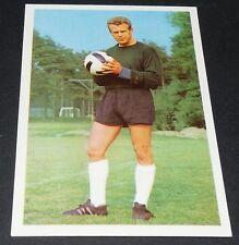 SCHWERIN HAMBOURG HAMBURG HSV FUSSBALL 1966 1967 FOOTBALL CARD BUNDESLIGA PANINI