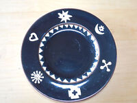 "Bella Ceramica BL12 Salad Plate 8 3/4"" Black 1 ea                    8 available"