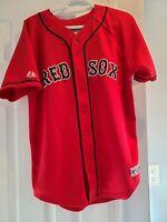 Boston Red Sox MLB Majestic Johnny Damon #18 XL Baseball Jersey