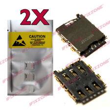 2 x New SIM Card Reader Holder Tray Slot Holder Socket For HTC Desire 626S USA