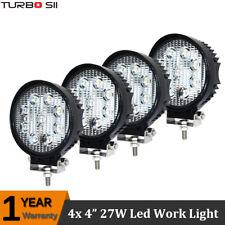 4X 27W LED Work Light Flood Beam 12V 24V Off Road Truck 4x4 ATV Boat SUV Lamp