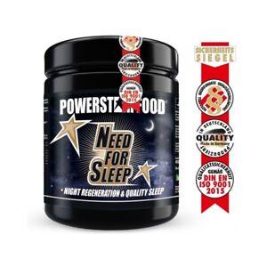 NEED FOR SLEEP - Schnelle Einschlafhilfe & Regeneration - 450 g Pulver