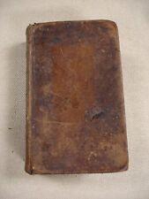 1813 Bible - KJV - Boston -Ruth &Benjamin Eames-Marshfield, Mass- names in Bible
