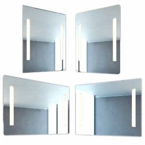 NEG Badspiegel MITRA 60x80cm Spiegel/Wandspiegel Bad/WC LED-Beleuchtung warmweiß