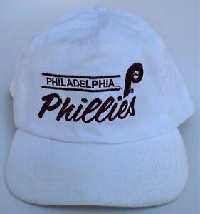 Philadelphia Phillies MLB Baseball Cap Hat M/L One Size Snapback 5-Panel