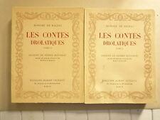 BALZAC EDITIONS DU CENTENAIRE ED ALBERT GUILLOT 50 VOLUMES ED NUMREOTEE1951