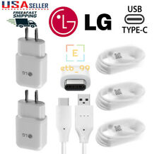 For LG G5 G6 G7 Stylo 4 V30 V20 Orginal Adaptive Rapid Fast Charger Type C Cable