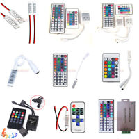 For 3528 5050 RGB LED Strip Light Mini 3/24/44 Key Music IR Remote Controller US