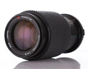 Tokina Zoom Lens 80-200mm F4.5 Lens for Olympus OM Mount
