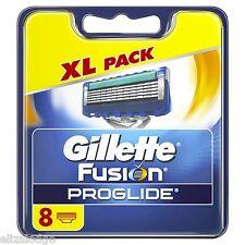 Gillette Fusion ProGlide Cuchillas x 8 (100% original de Reino Unido)