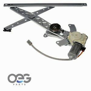 New Window Regulator and Motor Assembly For Lincoln Continental 95-02 Front