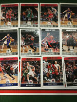 2017-18 Panini NBA Hoops Basketball Cards Complete Your Set (You Pick 1-247)