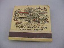 Vintage Matchbook: Emily Shaw's Inn Pound Ridge New York English Tap Room