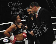 Denise Kielholtz Matt Mitrione Signed 8x10 Photo PSA/DNA COA Bellator Kickboxing