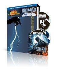BATMAN : THE DARK KNIGHT Part 1 & 2 + COMIC -  Blu Ray - Sealed Region free