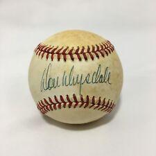 Don Drysdale Signed ONL Baseball Los Angeles Dodgers JSA LOA