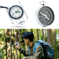 Scouts Mini Military Compass Scale Ruler Base Plate Compass For Hiking Camping