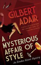 A Mysterious Affair of Style,Gilbert Adair,New Book mon0000092007