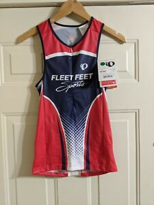 Pearl Izumi Women's Medium Singlet Tri-Athalon Bicycling NWT FLEET FEET...