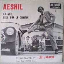 """AESHIL & les JAGUARS Seul sur le chemin RARE 7"""" 60s garage-pop BELGIUM Antenne"""
