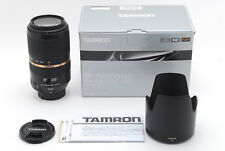 Tamron SP 70-300mm f/4-5.6 Di VC USD for NIKON【MINT in BOX】From Japan 280