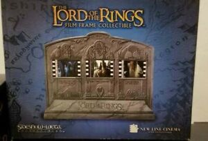 Sideshow Weta FILM FRAME COLLECTIBLE Lord of the Rings LotR Hobbit New