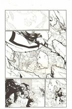 X-Men #195 p.13 - Omega Sentinel, Lady Mastermind & Iceman art by Humberto Ramos