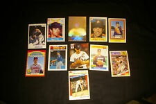 Lot (11) Diff Odd Ball Nolan Ryan Baseball Cards Old Mets Angels Astros Rangers