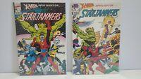 X-Men Spotlight On Starjammers #1 & 2 * Marvel * Hard To Find