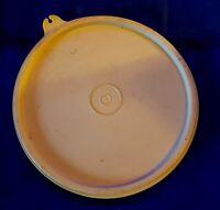Vintage Tupperware Lid Beige Light Brown Tan 6 1/2