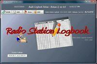 Ham Radio Station Logbook Software Log Book Ver 4.6 By KJ4IYE