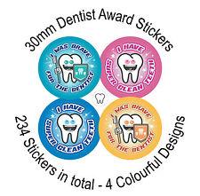 DENTISTA Dental Visita Adesivi Ricompensa-coraggioso, bel denti puliti promuovere la spazzolatura