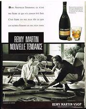 Publicité Advertising 1988 Cognac Fine champagne Remy martin