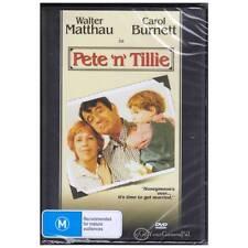 DVD Pete N Tillie Matthau Burnett 1972 Comedy Drama Novel Witch's Milk R4 BNS