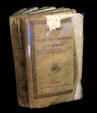 [INGENIERIE] FOURCY (Ambroise) - Histoire de l'Ecole Polytechnique. 1828.