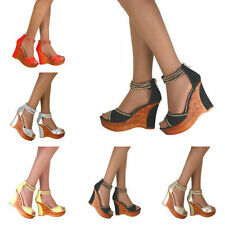 Wedge Party Synthetic Heels for Women