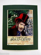 Âge cinéma film pression derrière passe-partout le comte de Monte Cristo 50x40cm 343