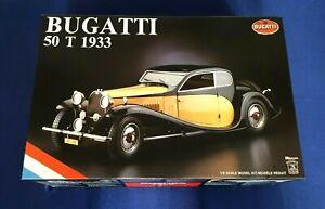 Bugatti 50T 1933 Pocher 1:8 scale /// NEVER OPENED /// factory sealed kit K76